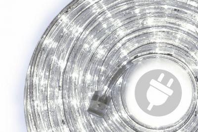 Světelný LED kabel - ledová bílá  - 480 diod