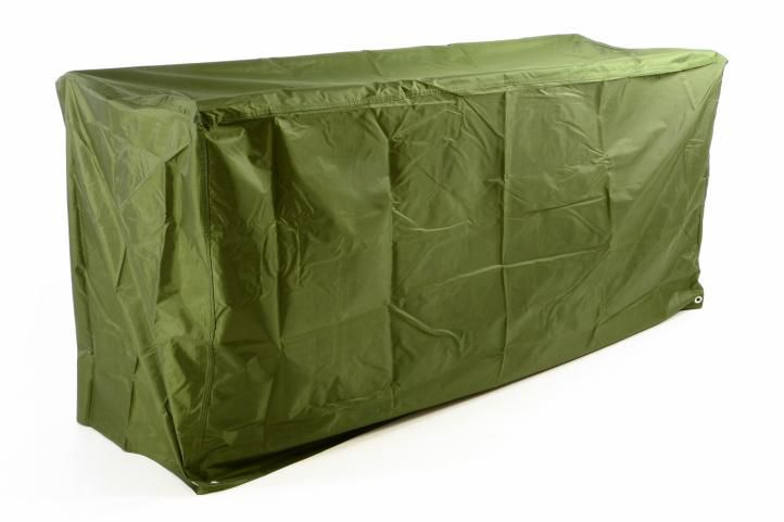 Ochranný potah na zahradní lavici 180 x 62 x 90 cm, zelený