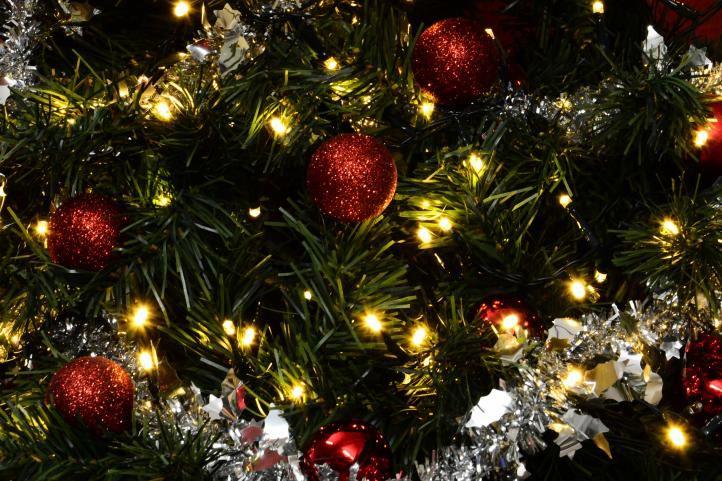 Vánoční bohatý LED řetěz - 20 m, 1000 diod, teple bílý