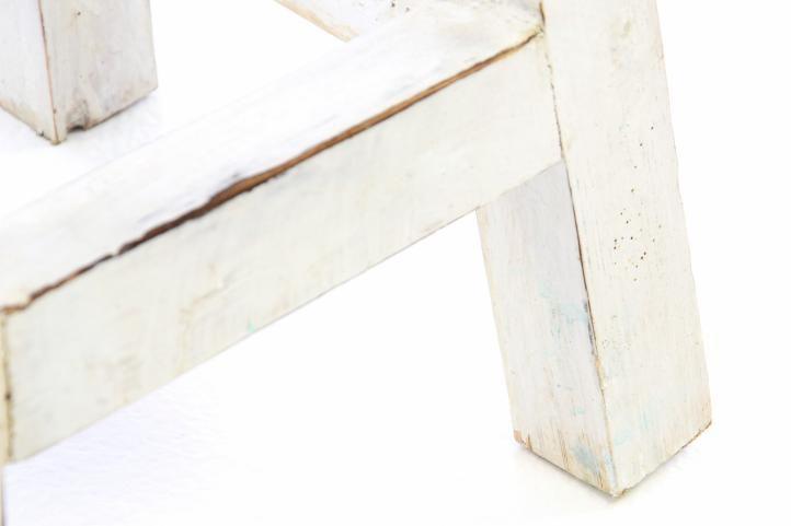 Designová retro stolička VINTAGE DIVERO vzhledu - výška 50 cm