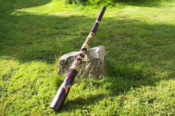 Didgeridoo hudební nástroj 130 cm