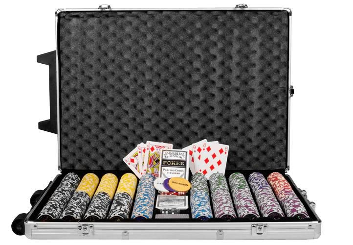 Garthen OCEAN Trolley 495 Poker set 1000 ks žetonů