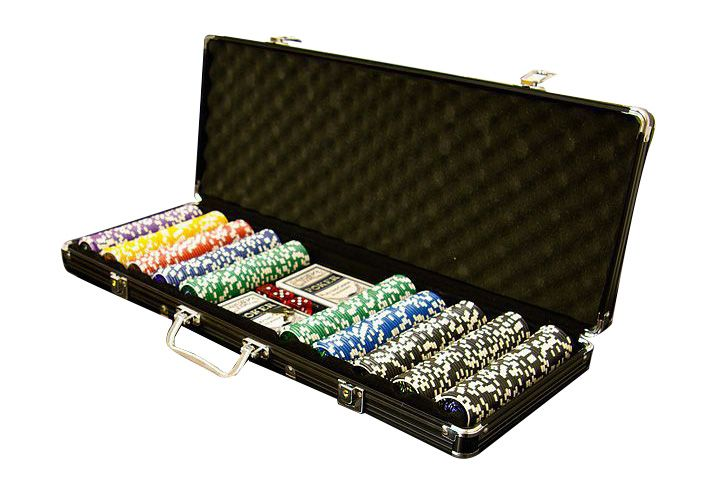 Poker set 500 ks 5 - 1000 OCEAN BLACK EDITION
