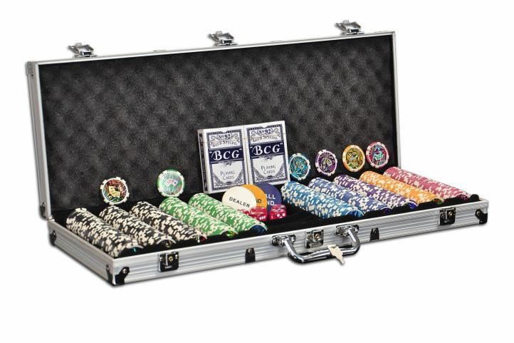 Garthen OCEAN CHAMPION 501 POKER SET 500 ks žetonů 11g