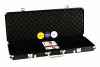 Garthen Hliníkový kufr na 500 ks žetonů s příslušenstvím
