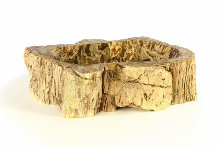 Umyvadlo z přírodního kamene FOSSIL DIVERO - velké