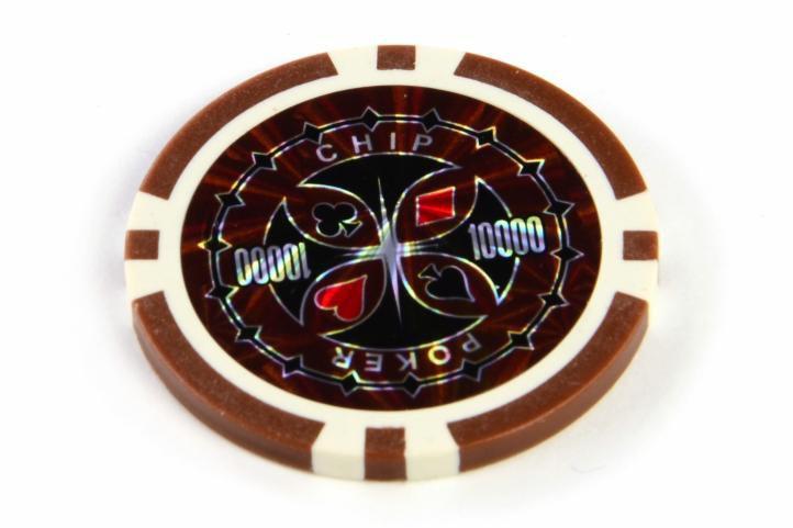 Kusový žeton design Ultimate Hodnota 10000 - 50 ks