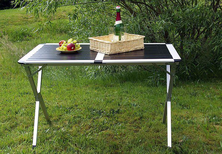 Hliníkový skládací stůl Garth 70 cm