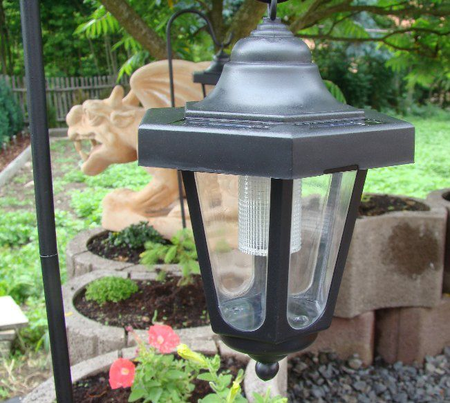 Zahradní sada solárních LED luceren, 3 ks