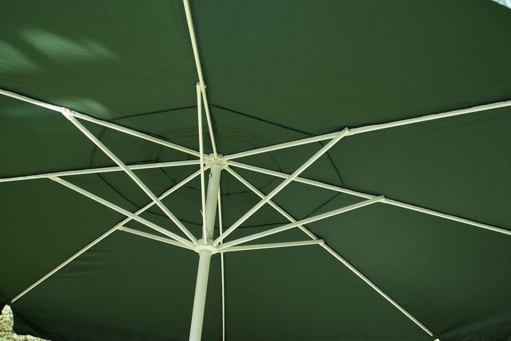 Slunečník - zelený, 4 m