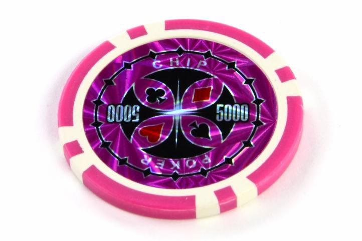 Kusový žeton design Ultimate Hodnota 5000 - 50 ks