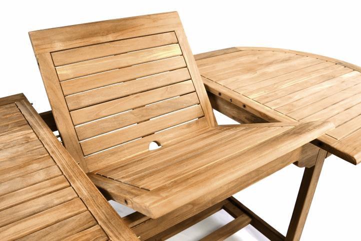Zahradní set DIVERO - týkové dřevo