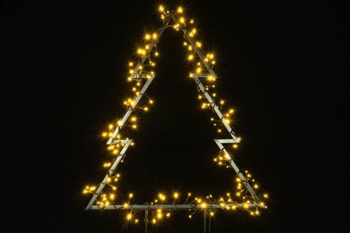 Vánoční LED dekorace – STROM – 175 LED 75 cm