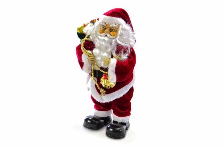 Vánoční dekorace - tančící a zpívající Santa Claus
