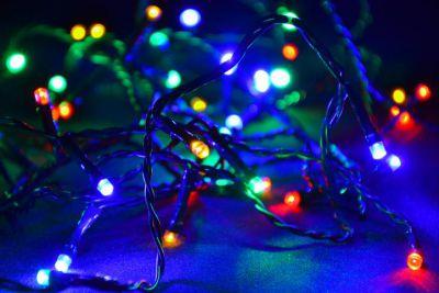 Vánoční LED osvětlení 8 m - barevné, 80 diod
