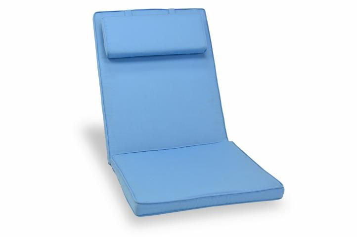 Polstrování na židli Garth - světle modré