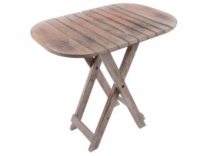 Skládací stůl DIVERO Vintage - 50 cm