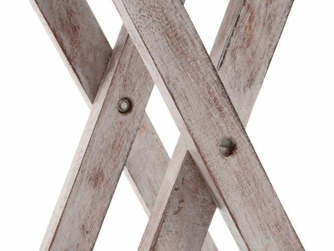Skládací stůl DIVERO Vintage – 50 cm