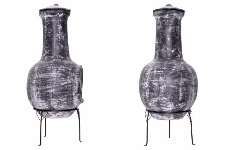 Zahradní terakotový krb Fuerte – 103 cm