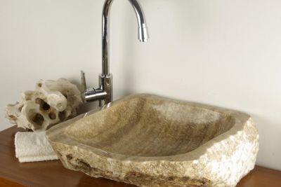 Umyvadlo z přírodního kamene - žíhané MERAN