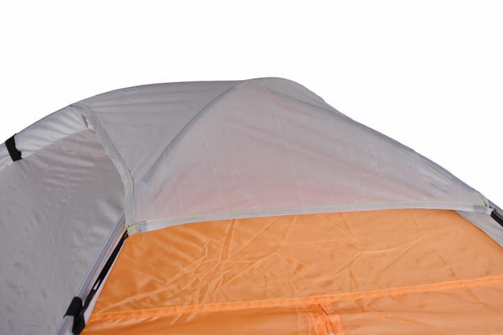 Rodinný stan pro 6 osob - oranžová/černá