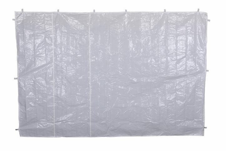 Sada dvou bočních stěn pro zahradní stan - bílá - bez oken