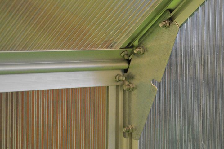 Skleník Garthen 311 x 190 cm - 5,9 m2 + 2 okna
