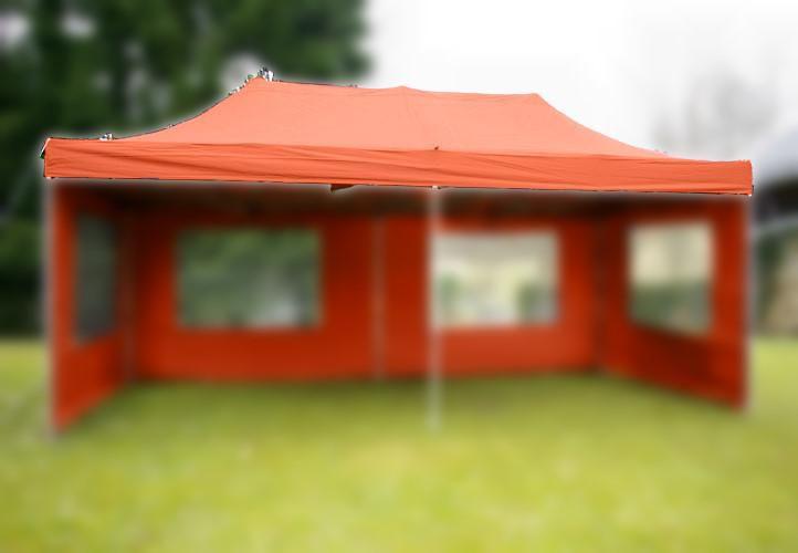 Střecha k zahradnímu stanu - 3x6m - terakota