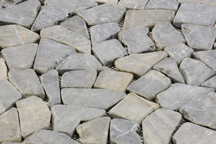 Mramorová mozaika DIVERO šedá 1 m²