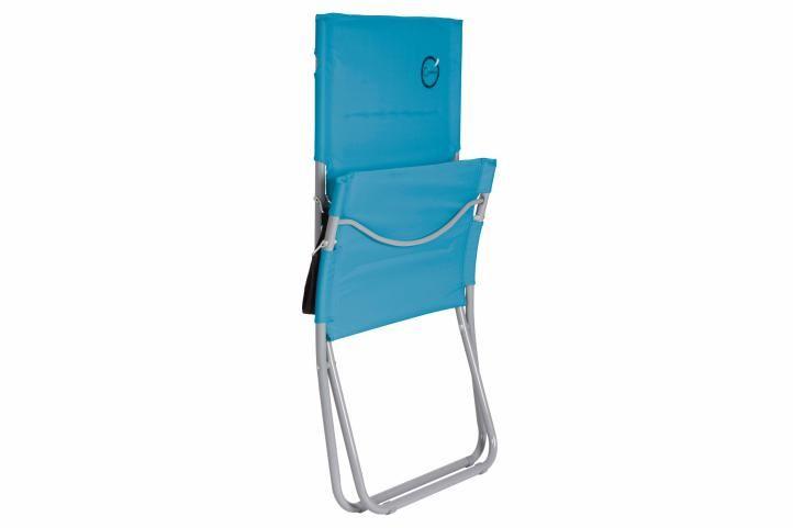 Skládací kempingová židle – tyrkysová