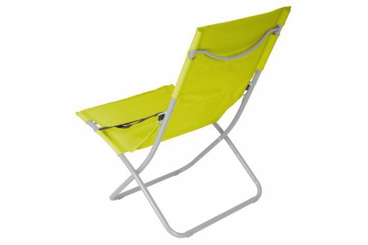 Skládací kempingová židle – světle zelená