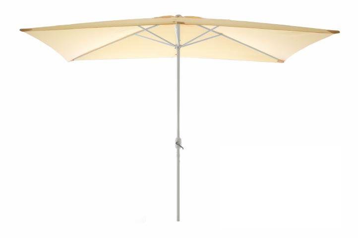 Zahradní slunečník - obdélníkový 2x3 m - champagne