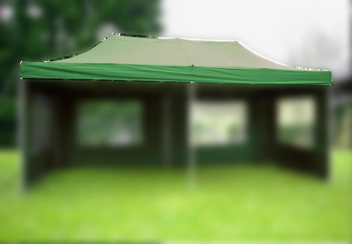 Náhradní střecha k párty stanu 3 x 6 m, zelená