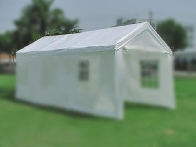 Náhradní střecha k zahradnímu stanu 4 x 8m,bílá