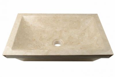 DIVERO umyvadlo z přírodního kamene Bergamo