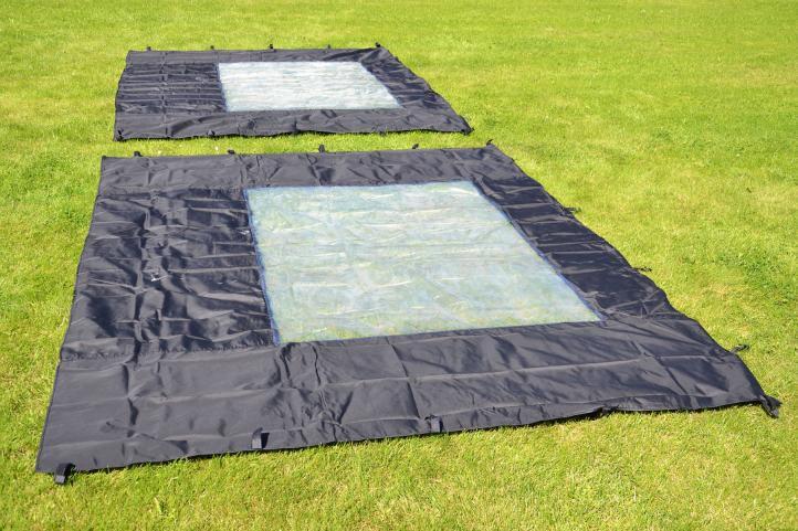 Zahradní párty stan nůžkový PROFI 3x3 m černý + 4 boční stěny