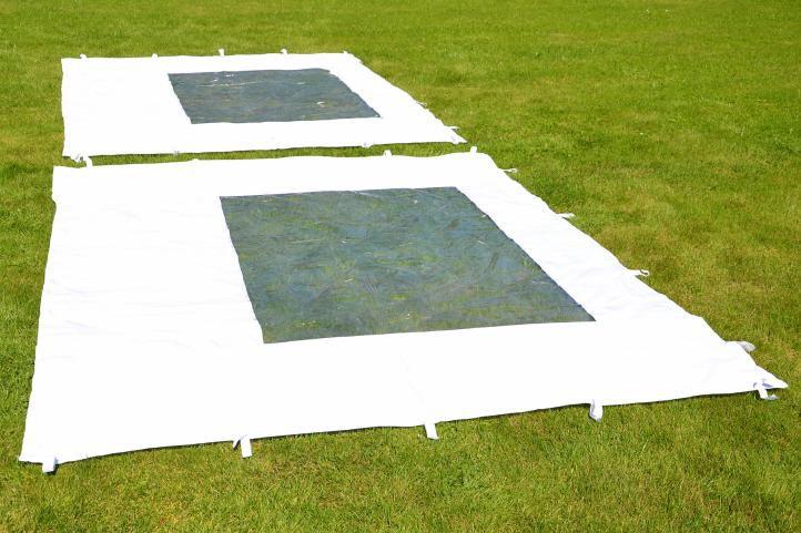 Zahradní párty stan nůžkový PROFI 3x3 m bílý + 4 boční stěny