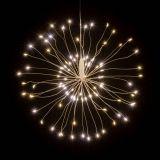 Vánoční osvětlení meteorický déšť - 180 LED, teplá bílá