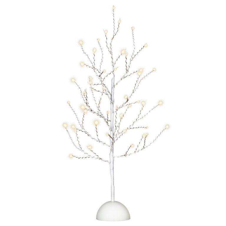 Dekorativní LED osvětlení strom - 32 LED, 40 cm, bílý