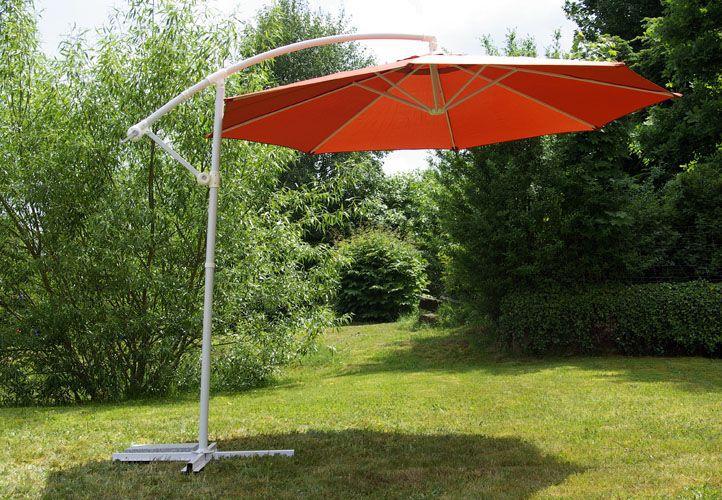 Slunečník - terakota, 3 m