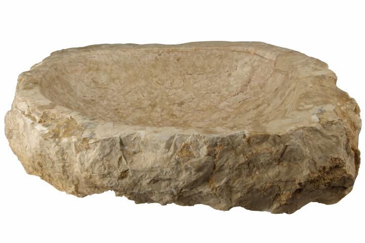 Umyvadlo z přírodního kamene Savona DIVERO - na desku