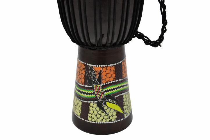 Africký buben Djembe - 60 cm - ručně malovaný