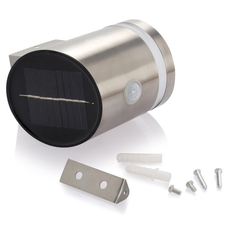 Nástěnné solární osvětlení LED s detektorem pohybu