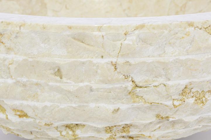 DIVERO umyvadlo z přírodního kamene Sanremo