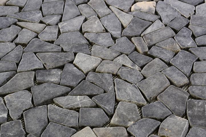 Mramorová mozaika DIVERO šedá obklady 1 m²