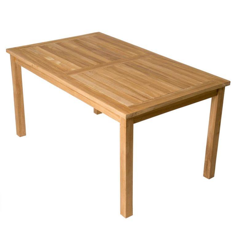 DIVERO jídelní stůl, masivní 150 x 90 cm