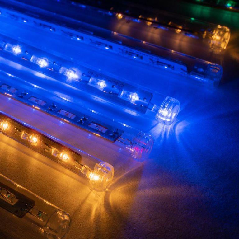 Světelný řetěz 180 LED – 10 tyčí, barevný