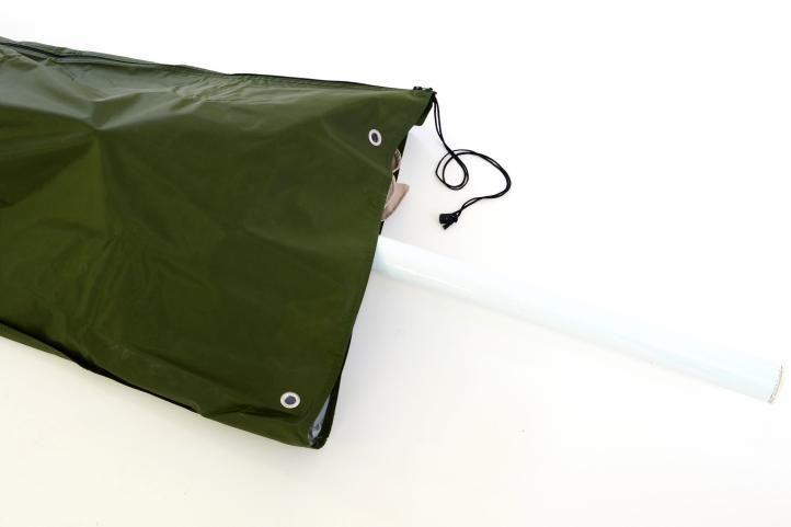 Obal na slunečník s průměrem do 3 m - zelený
