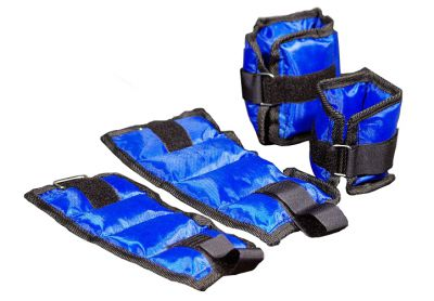 Závaží na nohy a ruce (kotníky a zápěstí) - modrá