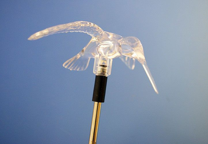 Zahradní sada 3 kusů solárních LED světel Garth - Kolibřík